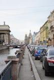 Άποψη του καναλιού Griboyedov στοκ εικόνα με δικαίωμα ελεύθερης χρήσης