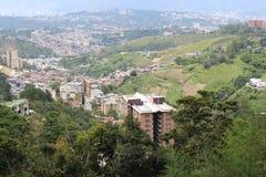 Άποψη του Καράκας από το νοτιοανατολικό σημείο στοκ φωτογραφία