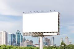 Άποψη του κενού πίνακα διαφημίσεων έτοιμη για τη νέα σημαντική διαφήμιση στοκ φωτογραφία με δικαίωμα ελεύθερης χρήσης