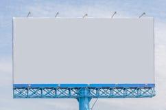 Άποψη του κενού πίνακα διαφημίσεων για τη δημόσια διαφήμιση στοκ εικόνες