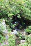 Άποψη του Κιότο σχετικά με το χρυσό περίπτερο στοκ εικόνες