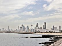Άποψη του Κουβέιτ Στοκ φωτογραφία με δικαίωμα ελεύθερης χρήσης