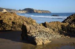 Άποψη του κρατικού πάρκου όρμων κρυστάλλου, νότια Καλιφόρνια Στοκ εικόνα με δικαίωμα ελεύθερης χρήσης