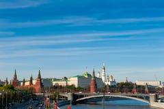 Άποψη του Κρεμλίνου Στοκ Εικόνες