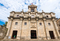 Άποψη του κτηρίου εθνικό Pantheon, Santo Domingo, Δομινικανή Δημοκρατία Διάστημα αντιγράφων για το κείμενο Στοκ εικόνες με δικαίωμα ελεύθερης χρήσης