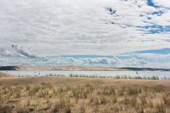 Άποψη του κόλπου του Αρκασόν, Aquitaine, Γαλλία Στοκ Εικόνες