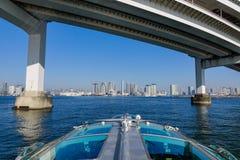 Άποψη του κόλπου του Τόκιο, Ιαπωνία Στοκ Φωτογραφίες