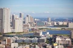 Άποψη του κόλπου του Τόκιο Στοκ φωτογραφία με δικαίωμα ελεύθερης χρήσης