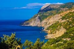 Άποψη του κόλπου Monte Argentario Στοκ Εικόνες