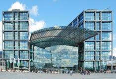 Άποψη του κύριου σταθμού του Βερολίνου Στοκ εικόνες με δικαίωμα ελεύθερης χρήσης