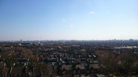 Άποψη του Λονδίνου σχετικά με τα σπίτια Στοκ Εικόνες