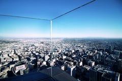 Άποψη του Λος Άντζελες από επάνω υψηλό στοκ φωτογραφία