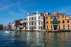 Άποψη του μεγάλου καναλιού στη Βενετία Στοκ φωτογραφία με δικαίωμα ελεύθερης χρήσης
