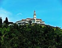 Άποψη του μοναστηριού του Μοντσερράτ, Μπογκοτά, Κολομβία Στοκ φωτογραφία με δικαίωμα ελεύθερης χρήσης