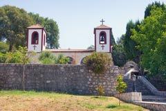 Άποψη του μοναστηριού Dajbabe podgorica του Μαυροβουνίου Στοκ Εικόνες