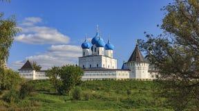 Άποψη του μοναστηριού Vysotsky Στοκ εικόνα με δικαίωμα ελεύθερης χρήσης