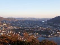 Άποψη του Μπέργκεν στοκ φωτογραφία με δικαίωμα ελεύθερης χρήσης