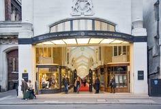 Άποψη του Μπέρλινγκτον Arcade στο Λονδίνο Στοκ εικόνες με δικαίωμα ελεύθερης χρήσης