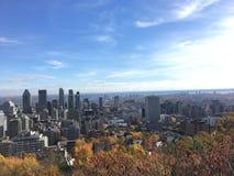 Άποψη του Μόντρεαλ το φθινόπωρο 2 στοκ φωτογραφία με δικαίωμα ελεύθερης χρήσης