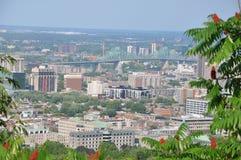 Άποψη του Μόντρεαλ στον Καναδά Στοκ εικόνες με δικαίωμα ελεύθερης χρήσης