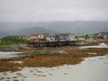 Άποψη του ναυτικού στη Νορβηγία πλέοντας γιοτ Νορβηγικό φιορδ Στοκ Εικόνες
