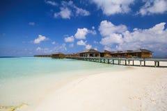 Άποψη του νησιού Μαλδίβες vilamendhoo στοκ φωτογραφίες με δικαίωμα ελεύθερης χρήσης