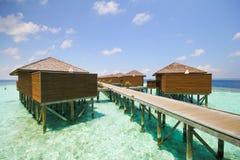 Άποψη του νησιού Μαλδίβες vilamendhoo στοκ φωτογραφίες