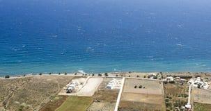 Άποψη του νησιού Santorini Στοκ εικόνες με δικαίωμα ελεύθερης χρήσης