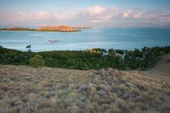 Άποψη του νησιού Sebayur, Ινδονησία Στοκ εικόνες με δικαίωμα ελεύθερης χρήσης