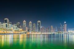 Άποψη του Ντουμπάι στοκ φωτογραφίες