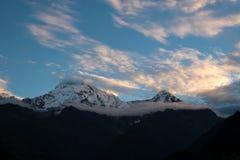 Άποψη του νότου Annapurna, Νεπάλ Στοκ Εικόνες