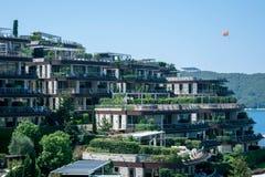 Άποψη του ξενοδοχείου, ST Stephen στην ανατολή στοκ φωτογραφία με δικαίωμα ελεύθερης χρήσης