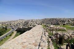 Άποψη του ορίζοντα του Αμμάν, Ιορδανία Στοκ Φωτογραφία