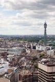 Άποψη του ορίζοντα του Λονδίνου Στοκ φωτογραφία με δικαίωμα ελεύθερης χρήσης