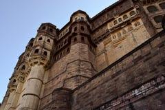 Άποψη του οχυρού Mehran στοκ φωτογραφίες με δικαίωμα ελεύθερης χρήσης