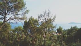 Άποψη του πάρκου Marjan φιλμ μικρού μήκους