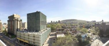 Άποψη του πάρκου Mont του Μόντρεαλ βασιλικό Στοκ Φωτογραφία