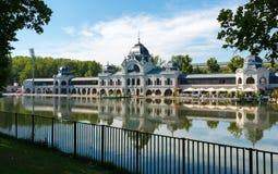 Άποψη του πάρκου Varosligeti στη Βουδαπέστη - την Ουγγαρία στοκ φωτογραφίες με δικαίωμα ελεύθερης χρήσης