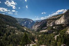 Άποψη του πάρκου Yosemite από την άποψη σηράγγων, Καλιφόρνια Στοκ Εικόνες