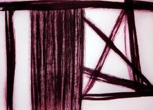 Άποψη του παραθύρου που κλείνει κατά το ήμισυ από μια κουρτίνα Αρμονία ήρεμη/στατική και δυναμική στοκ εικόνες