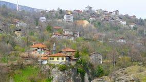 Άποψη του παραδοσιακού οθωμανικού από την Ανατολία χωριού, Safranbolu, Τουρκία φιλμ μικρού μήκους