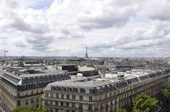 Άποψη του Παρισιού άνωθεν στοκ φωτογραφίες