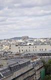 Άποψη του Παρισιού άνωθεν στοκ φωτογραφία με δικαίωμα ελεύθερης χρήσης