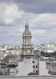 Άποψη του Παρισιού άνωθεν στοκ εικόνα με δικαίωμα ελεύθερης χρήσης