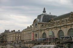 Άποψη του Παρισιού από τον ποταμό Στοκ Εικόνες