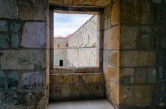 Άποψη του παλαιού μοναστηριού σε Oaxaca Στοκ εικόνα με δικαίωμα ελεύθερης χρήσης