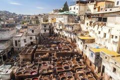 Άποψη του παλαιού medina σε Fes Στοκ φωτογραφίες με δικαίωμα ελεύθερης χρήσης