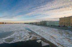 Άποψη του περιπάτου des Anglais Στοκ Εικόνες