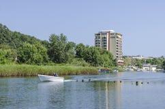 Άποψη του ποταμού Dyavolska Στοκ Φωτογραφίες