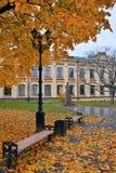 Άποψη του πολυτεχνικού ιδρύματος του Κίεβου το φθινόπωρο Στοκ Εικόνες